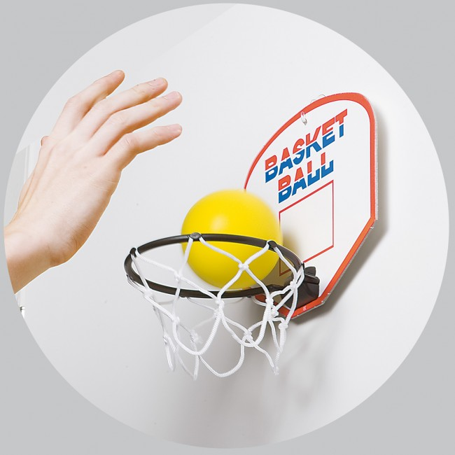 Länge Basketballspiel