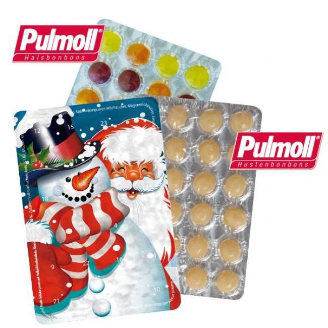 Kleiner Weihnachtskalender.Kleiner Adventskalender Pulmoll Günstig Bedrucken Mit Logo Als