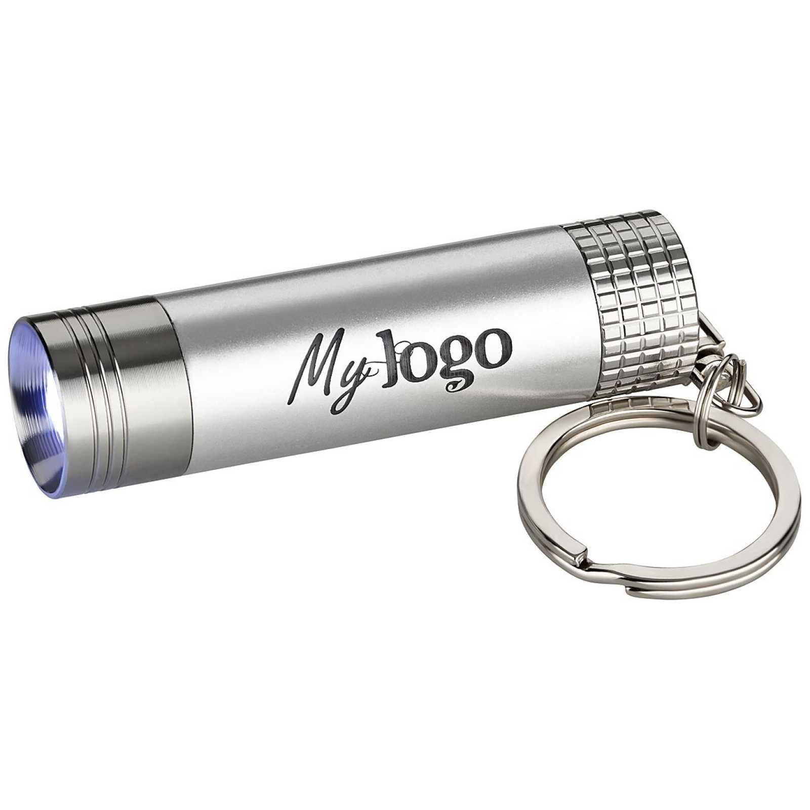 LED Lampe Schlüsselanhänger günstig bedrucken mit Logo als ...