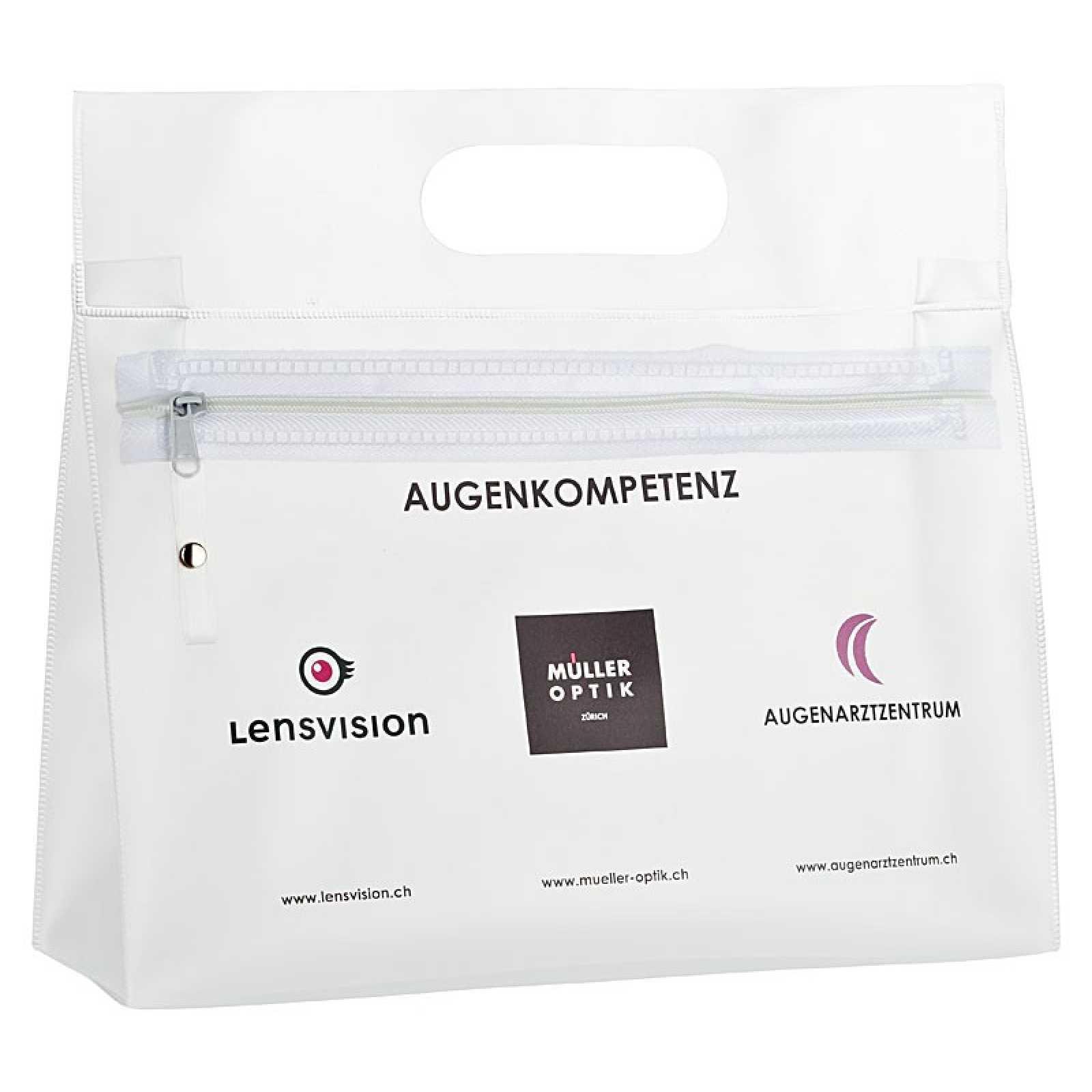 transparente taschen g nstig bedrucken mit logo als werbegeschenk ab 1 00 chf wipex werbemittel ag. Black Bedroom Furniture Sets. Home Design Ideas
